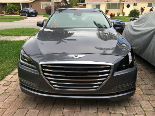 2015 Hyundai Genesis 50 V8 Fl Certificate Of Destruction Hot