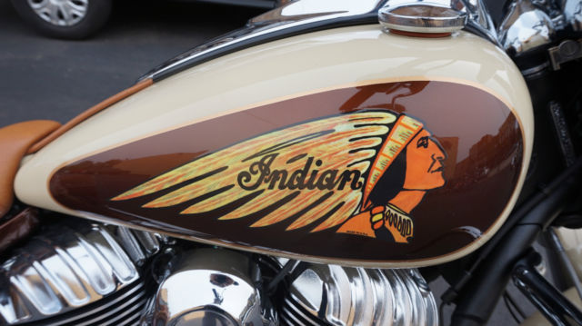 Indian Chief Vintage >> 2015 Indian Chief Vintage Custom Paint Two Tone Cream and Root beer