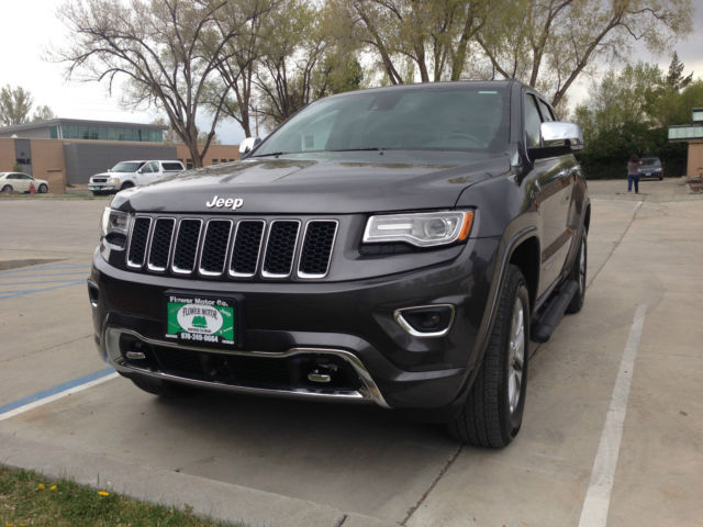 2015 jeep grand cherokee overland only 22 miles. Black Bedroom Furniture Sets. Home Design Ideas
