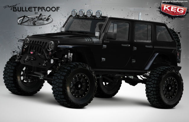 2015 Jeep JKU Rubicon BULLETPROOF SEMA BUILD $95,000 ...