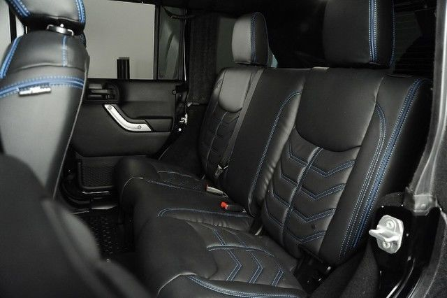 2015 Jeep Wrangler Unlimited Rubicon Kevlar Paint Lift Kit Leather Heated Seats