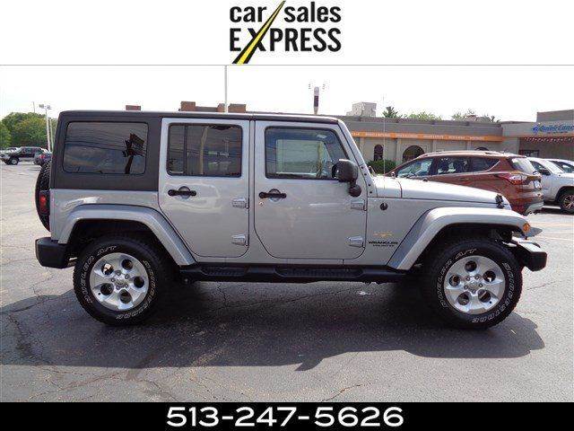 2015 jeep wrangler unlimited sahara 14874 miles billet silver metallic clearcoat. Black Bedroom Furniture Sets. Home Design Ideas