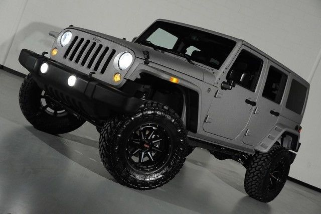 2015 Jeep Wrangler Unlimited Sport Custom Lifted 4x4 4 Door Starwood