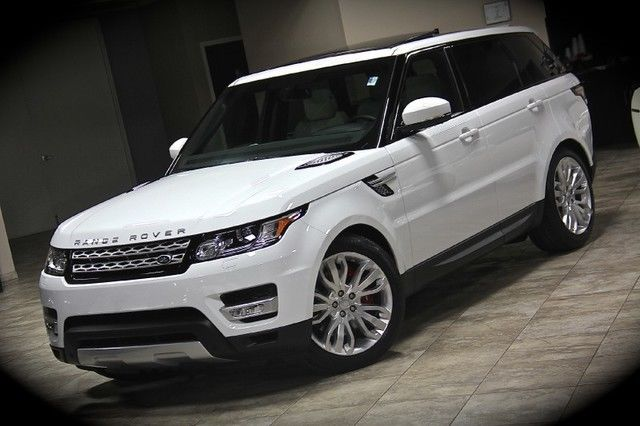 2015 land rover range rover sport v8 supercharged suv fuji white pano roof. Black Bedroom Furniture Sets. Home Design Ideas