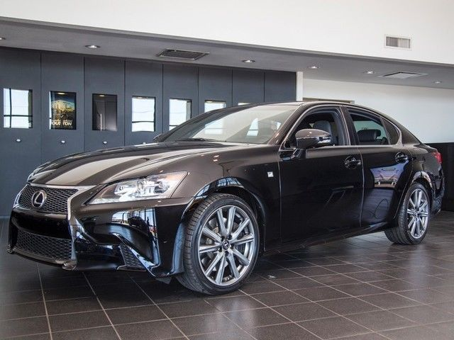 2015 Lexus GS350 F Sport Nav 19 Wheels Blind Spot Low Miles