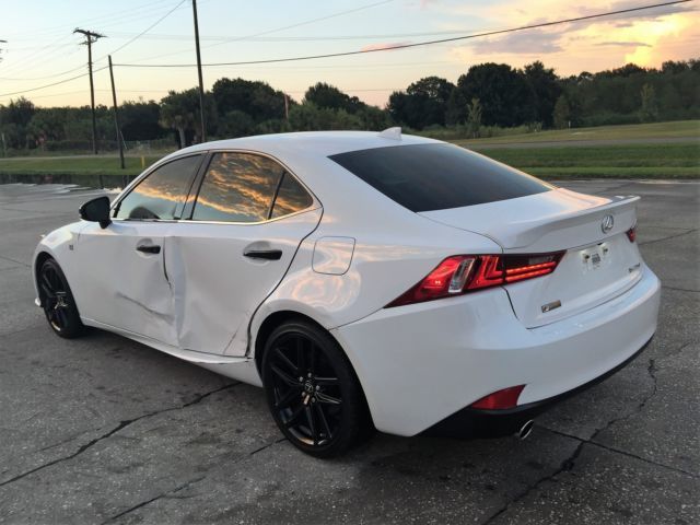 2015 Lexus IS250 F Sport Fully Loaded Leather Navigation