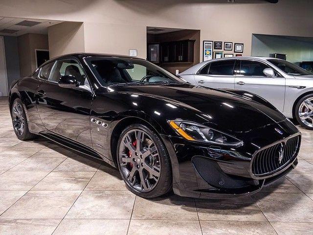 2015 Maserati Granturismo Sport Nero e Owner $137K MSRP