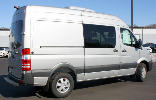 2015 mercedes benz 2500 series sprinter 144 high roof crew