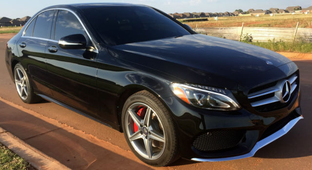 2015 Mercedes-Benz C300 4Matic Sedan 4-Door 2.0L AMG ...