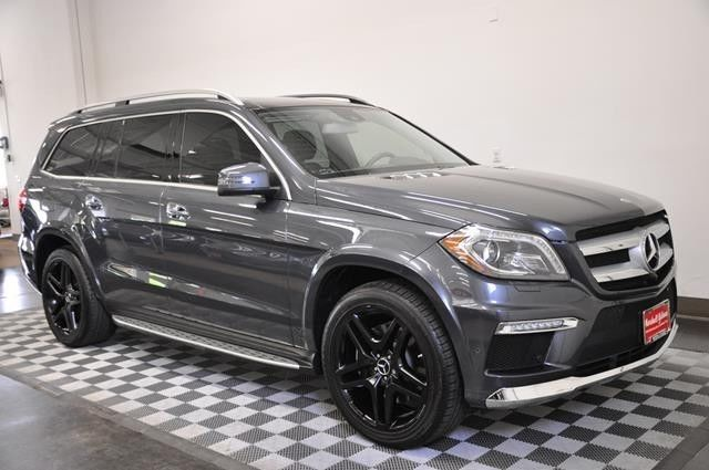 2015 Mercedes Gl550 4matic Steel Grey Metallic Black