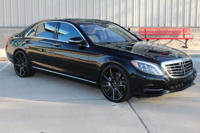 2015 mercedes s550 black premium package silk espresso. Black Bedroom Furniture Sets. Home Design Ideas