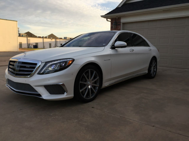 2015 mercedes s65 amg matte white executive seating 4 200 miles trades welcome. Black Bedroom Furniture Sets. Home Design Ideas