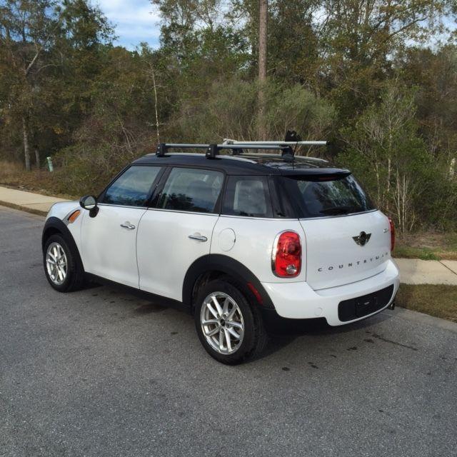 2015 Mini Cooper Countryman Light White Black Roof And
