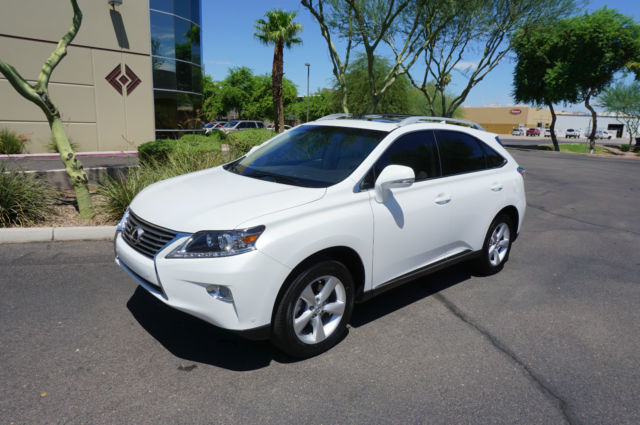 2015 Pearl White Lexus RX350 SUV 1 Owner AZ Car like 10 ...