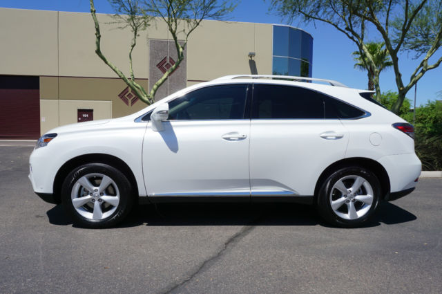 Used Lexus Rx 350 >> 2015 Pearl White Lexus RX350 SUV 1 Owner AZ Car like 10 2011 2012 2013 2014 2016