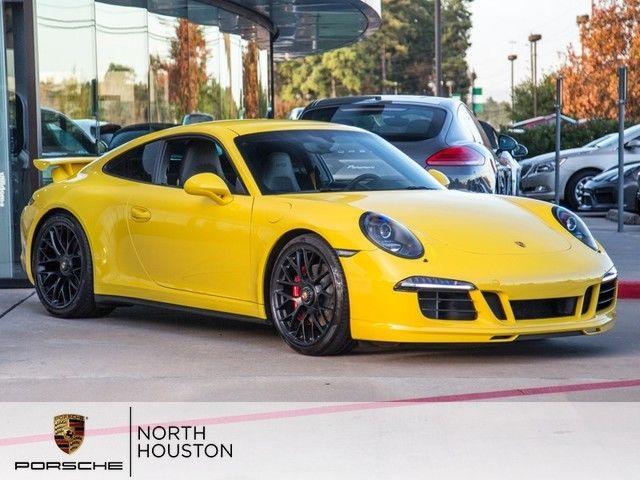 2015 Porsche 911 Carrera Gts Nav Manual Bose 20 Wheels Aerokit Chrono