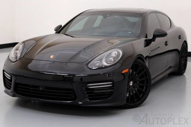 2015 Porsche Panamera Gts Black 22in Wheels Used Premium Package Plus