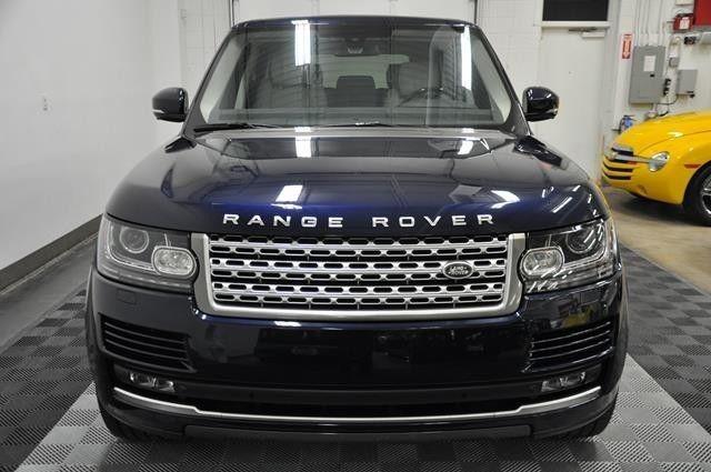 2015 RANGE ROVER HSE IN LOIRE BLUE WITH CIRRUS LEATHER ...