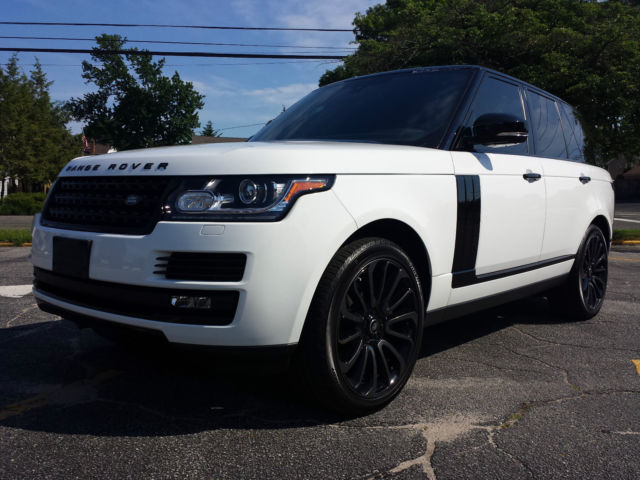 2015 Range Rover Supercharged Black Limited Edition