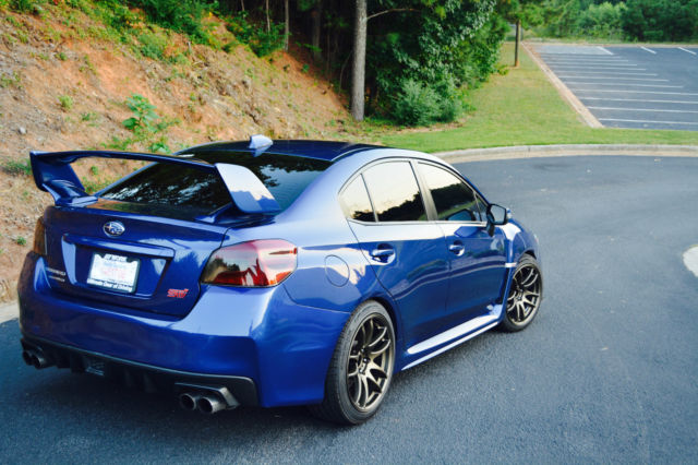 2015 subaru wrx sti limited very clean. Black Bedroom Furniture Sets. Home Design Ideas