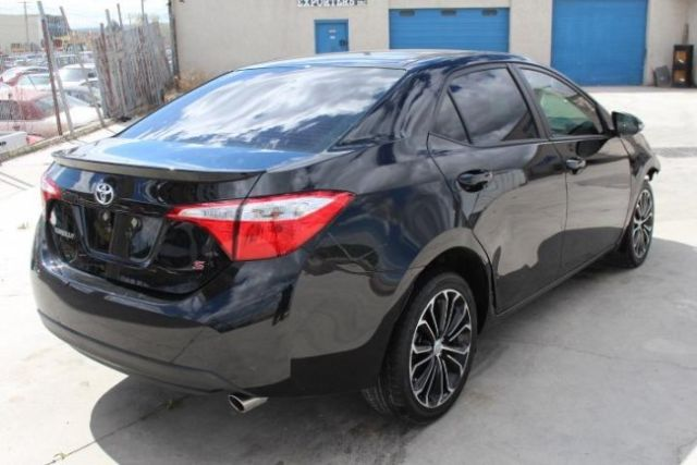 2015 toyota corolla s plus cvt salvage wrecked repairable priced to sell l k. Black Bedroom Furniture Sets. Home Design Ideas