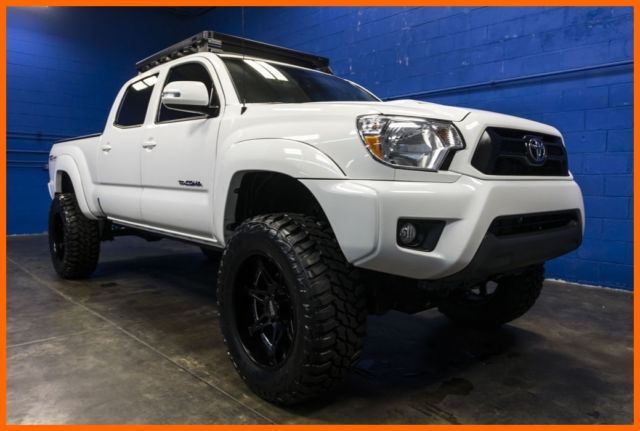 Toyota Tacoma Roof Rack Double Cab >> 2015 Toyota Tacoma TRD Sport 4x4 4L V6 Lifted Pickup Truck with Roof Rack