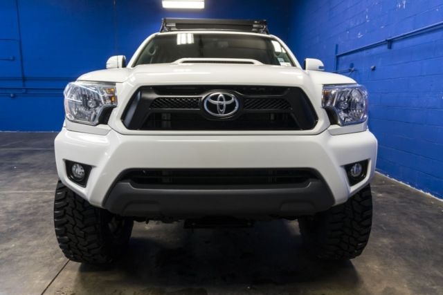 2015 toyota tacoma trd sport 4x4 4l v6 lifted pickup truck with roof rack. Black Bedroom Furniture Sets. Home Design Ideas