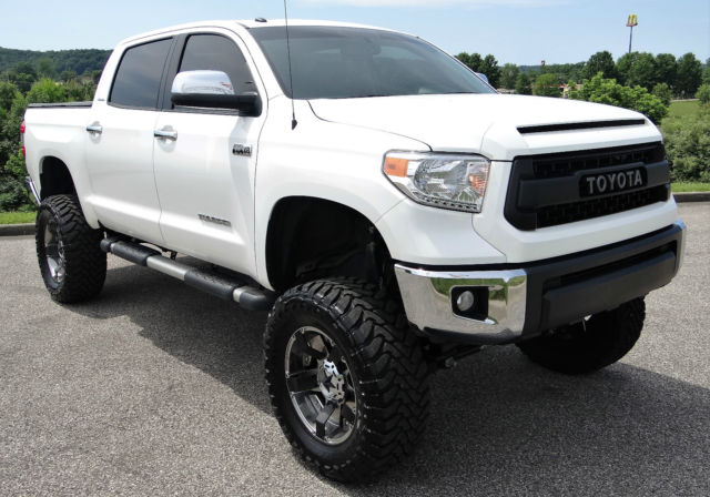 2015 Toyota Tundra Limited Crew Max Custom Lifted Nav