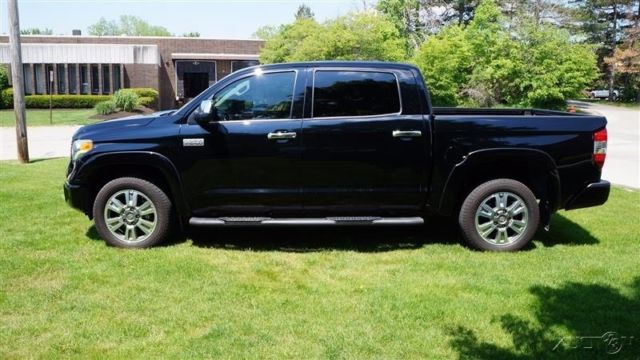 2015 TOYOTA TUNDRA PLATINUM V8 4X4 BLACK ON BLACK LEATHER ...
