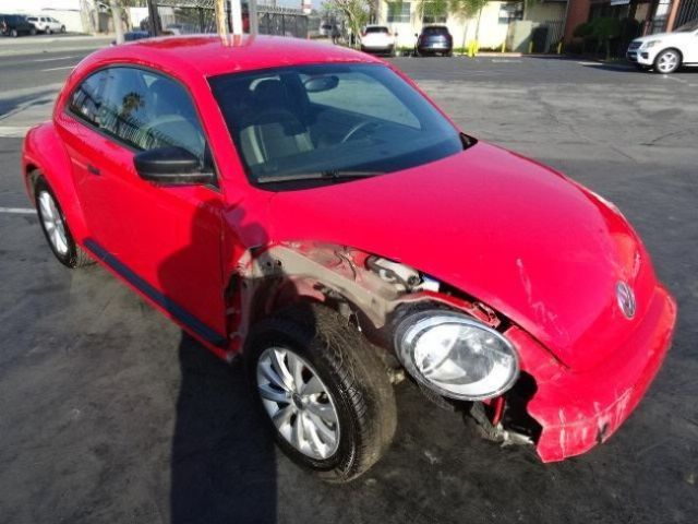 2015 Volkswagen Beetle 1 8T Salvage Wrecked Repairable