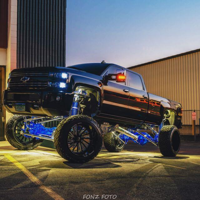 2015 5 Chevrolet Silverado Duramax Lifted Sema Show