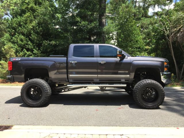 2016 2500hd Diesel Ltz Z71 10 12 Cognito Lift With