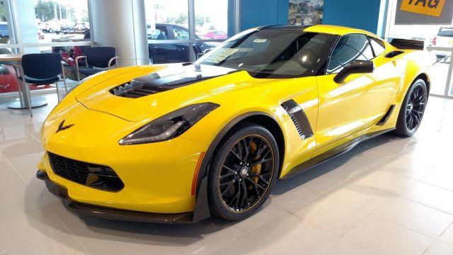 2016 Corvette Z07 >> 2016 #445 of 500 Chevrolet Corvette Racing Yellow Z07 Z06