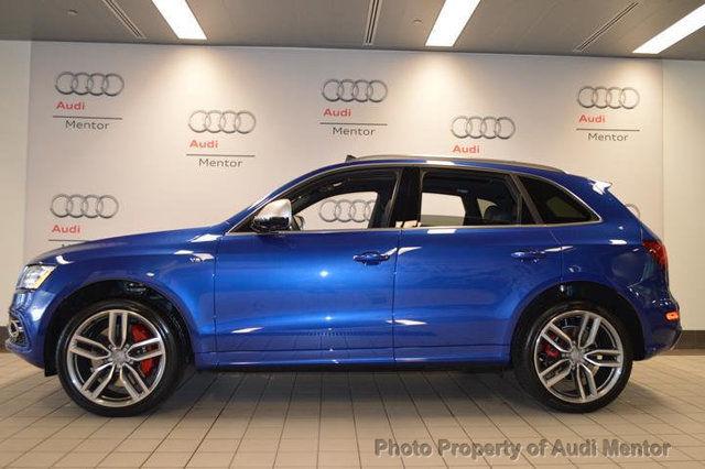 2016 Audi Sq5 3 0t Premium Plus Sepang Blue Quattro