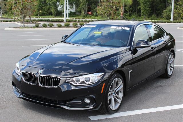2016 Bmw 428i W Sulev Gran Coupe 3912 Miles Black Sapphire Metallic Hatchback 2