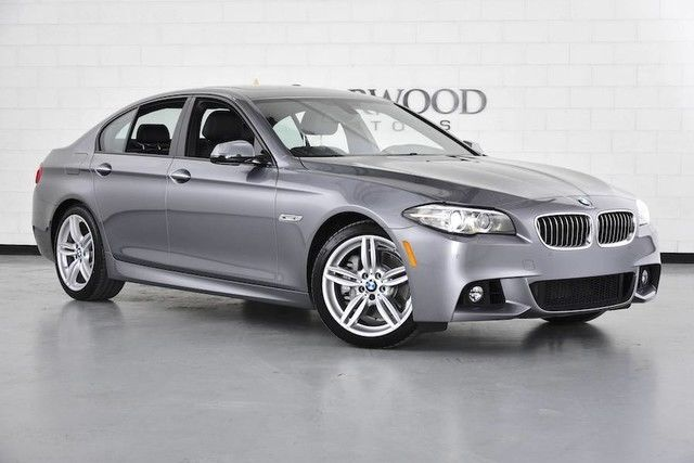 2016 bmw 5 series 535i m sport gray black. Black Bedroom Furniture Sets. Home Design Ideas