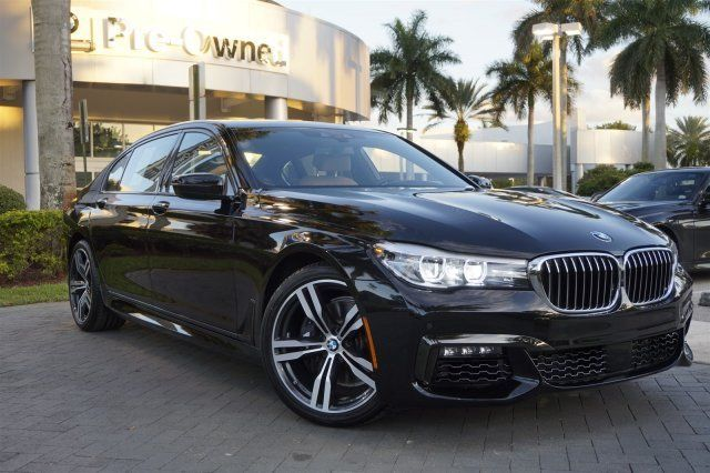 2016 BMW 740i M Sport CPO Elite Warranty All Original Msrp Was 95945