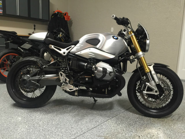 2016 bmw rninet nine t rizoma new only 83 miles. Black Bedroom Furniture Sets. Home Design Ideas