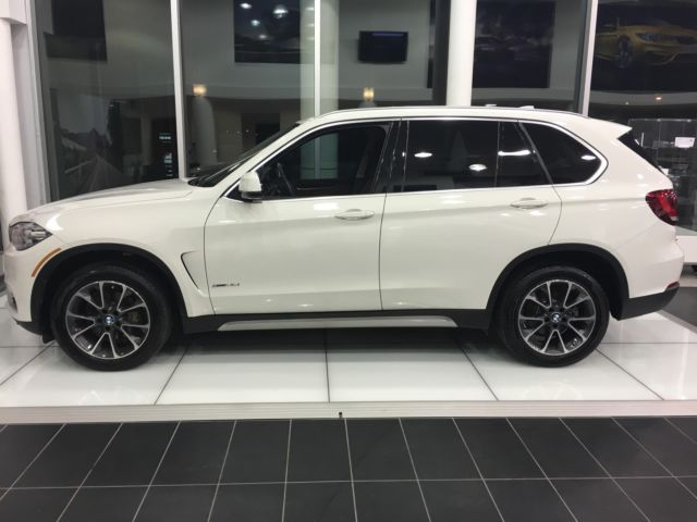2016 Bmw X5 Xdrive35i 20 567 Miles Alpine White 3rd Row