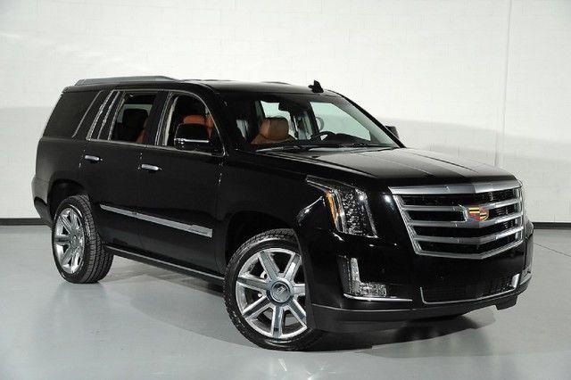 2016 Cadillac Escalade 4WD Premium Kona interior power ...