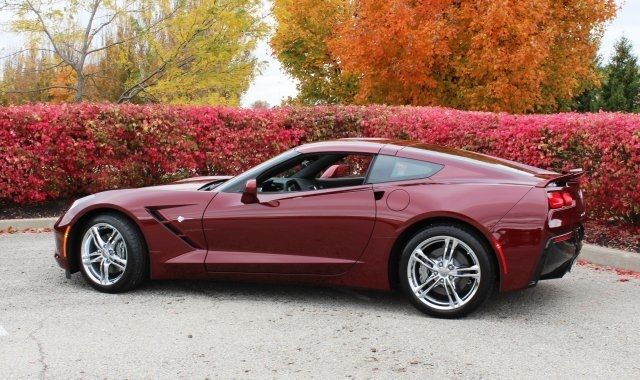 2016 Chevrolet Corvette Stingray Long Beach Red 2lt