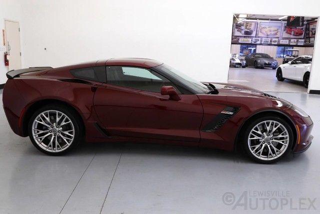 2016 Chevrolet Corvette Stingray Z06 1LZ Long Beach Red ...