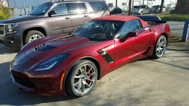 2016 Chevrolet Corvette Z06 Convertible 3LZ SPICE RED ...
