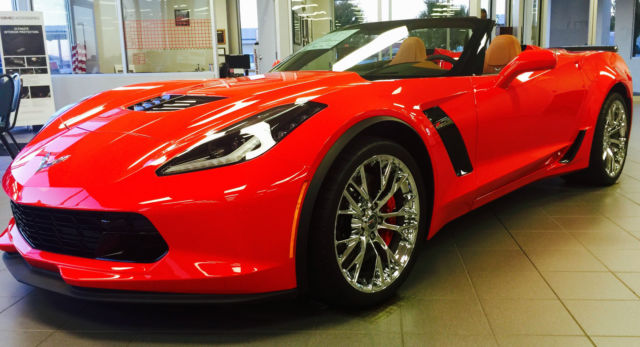 2016 Chevrolet Corvette Z06 Convertible Torch Red 3LZ ...