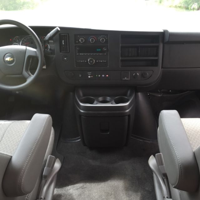 2011 Chevrolet Express 3500 Cargo Interior: 2016 Chevrolet Express G3500 LT,12 Passenger Van,Backup