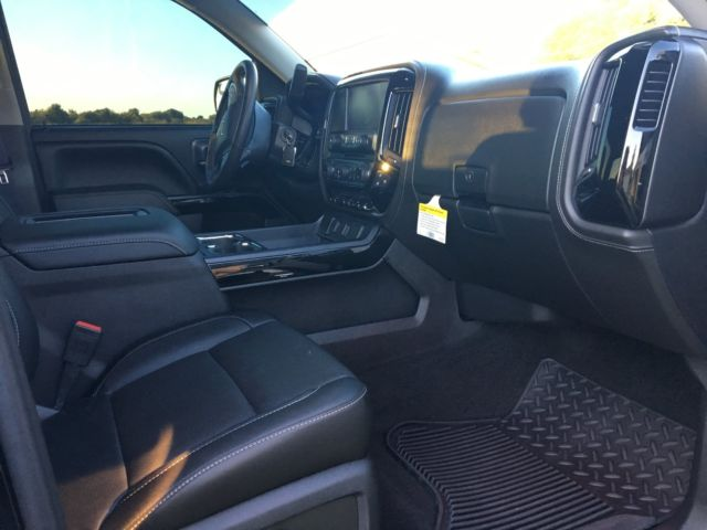 2016 Chevy Silverado 1500 Crew Cab Z71 Ltz Black Widow Edition