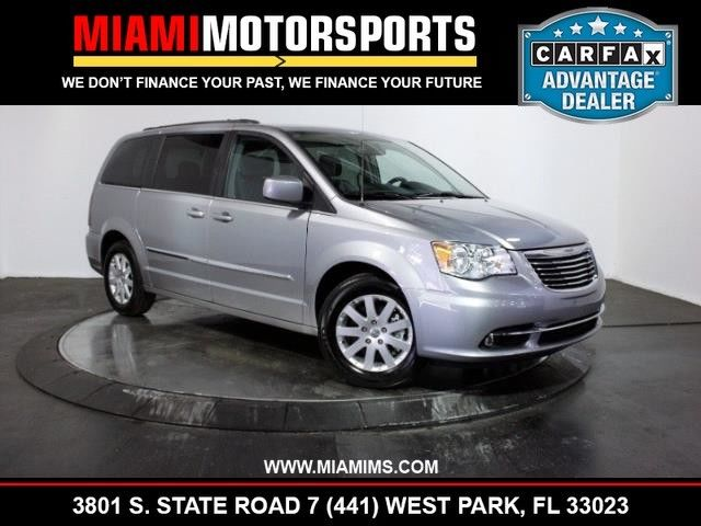 2016 Chrysler Town Country Touring 21957 Miles Billet Silver Metallic Clearcoa