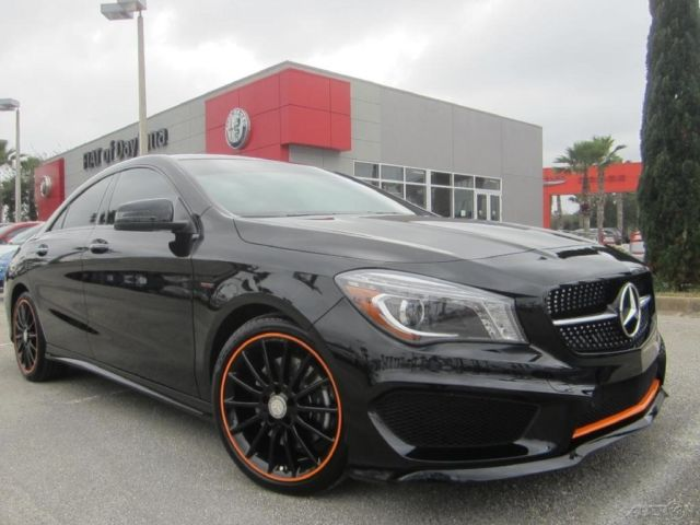 2016 Cla 250 Edition Orange Sport Amg Wheels Panoramic