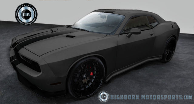 Free Vehicle History Report By Vin >> 2016 Dodge Challenger, wide body kit, custom matte paint