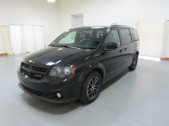 2016 dodge grand caravan r t black r t 4dr mini van 23401 miles. Black Bedroom Furniture Sets. Home Design Ideas